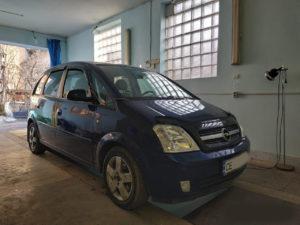 Установка ГБО на Opel Meriva